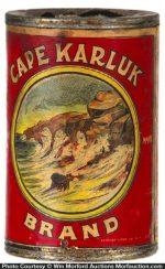 Cape Karluk Salmon Tin