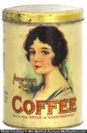 American Lady Coffee Can
