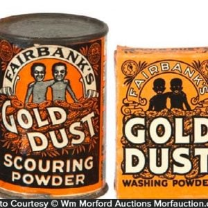 Gold Dust Powder Sample Tins