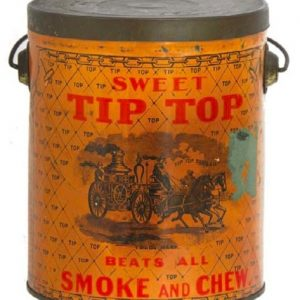 Sweet Tip Top Tobacco Pail