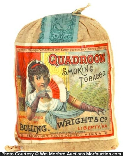 Quadroon Tobacco Pouch