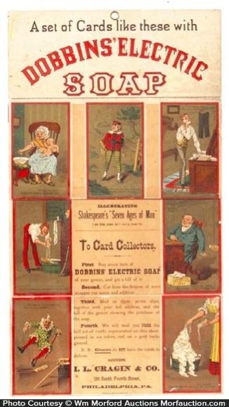 Dobbins Electric Soap Sign