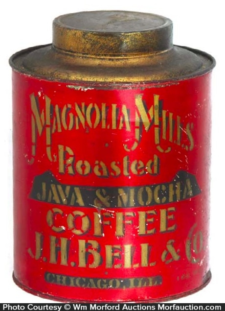 Magnolia Mills Coffee Can