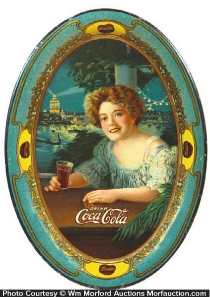 1909 Coca-Cola Tip Tray