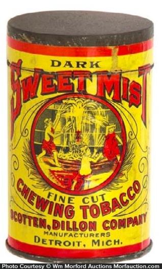 Sweet Mist Tobacco Tin