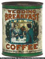 Wedding Breakfast Coffee Can
