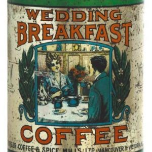 Wedding Breakfast Coffee Can