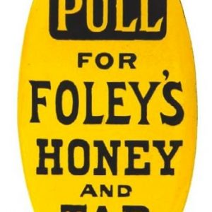 Foley's Honey and Tar Door Push