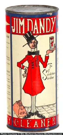 Jim Dandy Cleanser Tin
