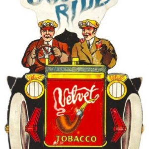 Velvet Tobacco Sign