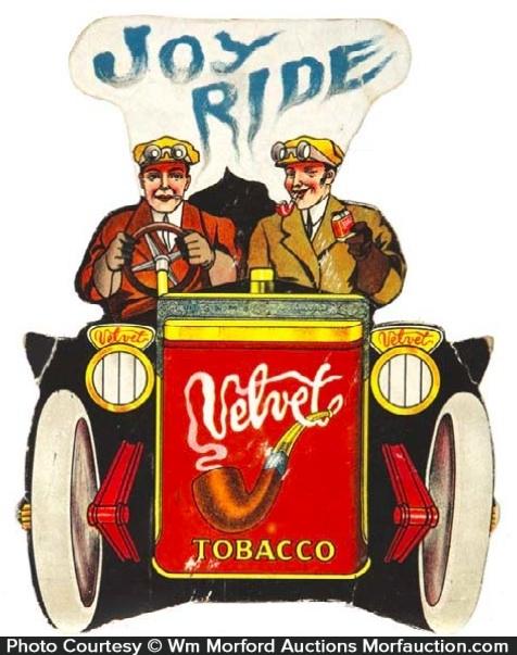 Velvet Tobacco Sign