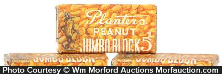 Planters Jumbo Block Candy Bars