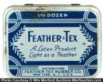 Feather Tex Condom Tin