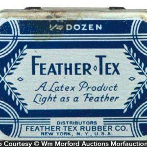 Feather Tex Condom Tin