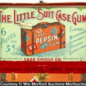 Little Suit Case Gum Box