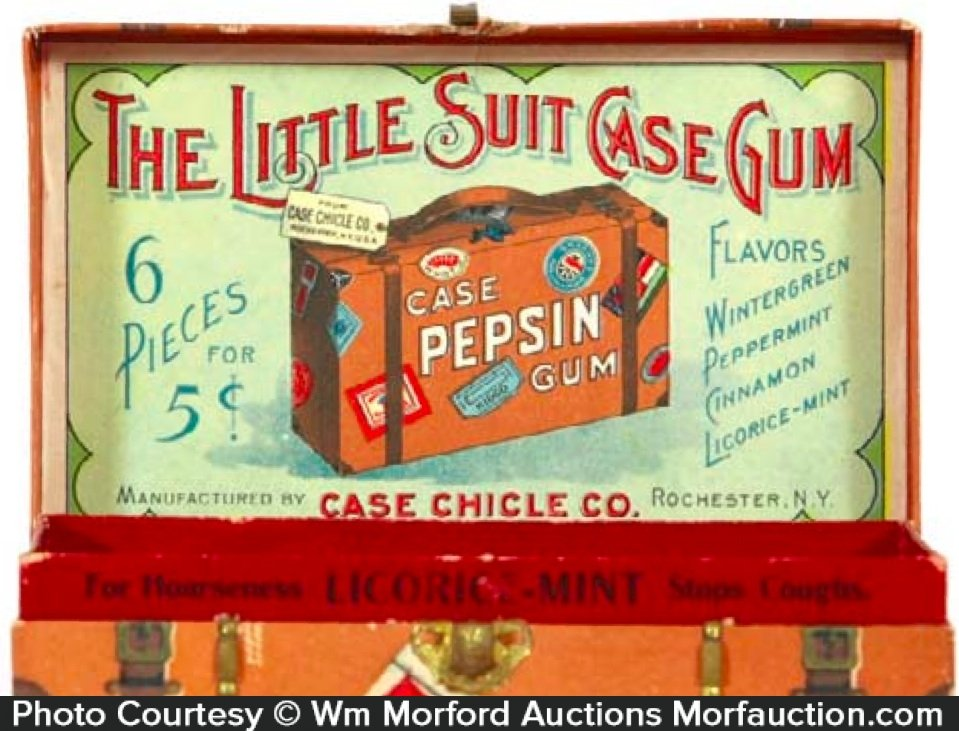 Little Suit Case Gum Box