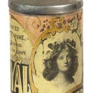 Royal Tooth Powder Tin