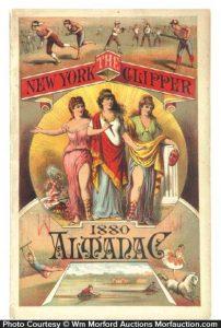 1880 New York Clipper Almanac