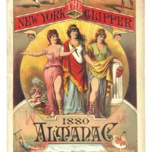 1880 New York Clipper Almanac