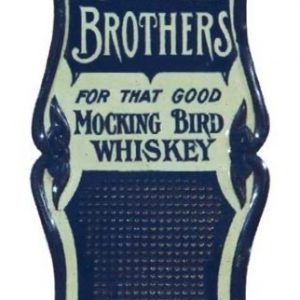 Mocking Bird Whiskey Match Scratcher
