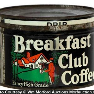Breakfast Club Coffee Can