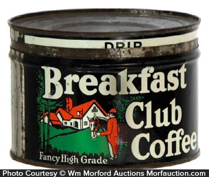 Breakfast Club Coffee Can