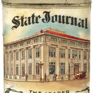 State Journal Cigar Can
