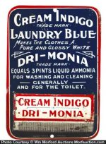 Cream Indigo Laundry Blue Match Holder