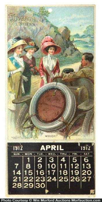 Firestone Tires Calendar