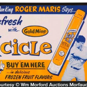 Roger Maris Icicles Sign