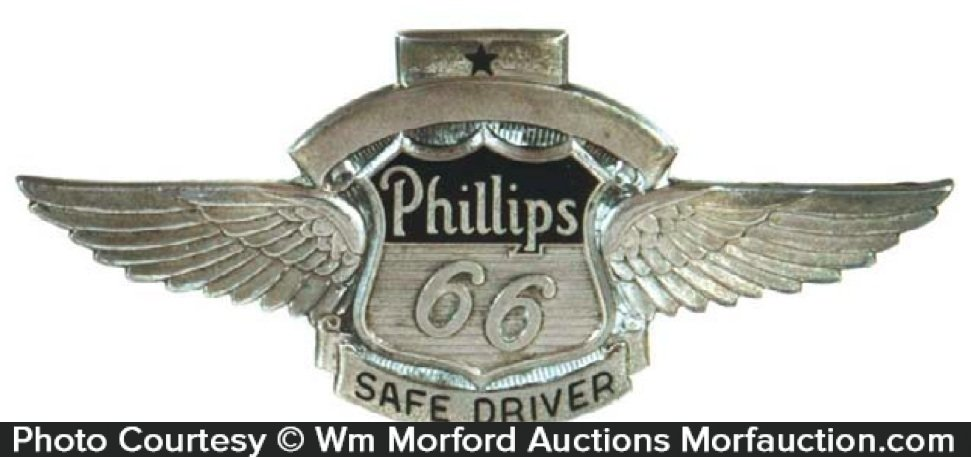 Phillips 66 Safe Driver Badge
