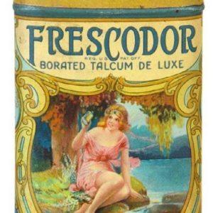 Frescodor Talcum Tin