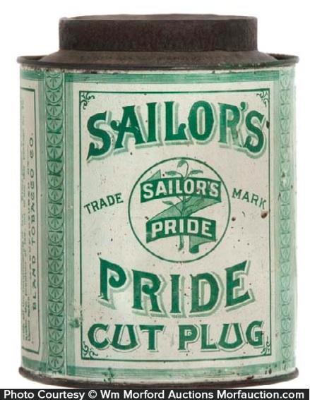 Sailors Pride Tobacco Tin