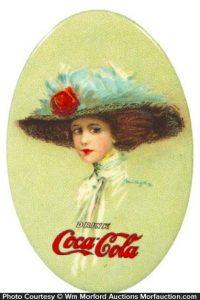 1910 Coca-Cola Mirror