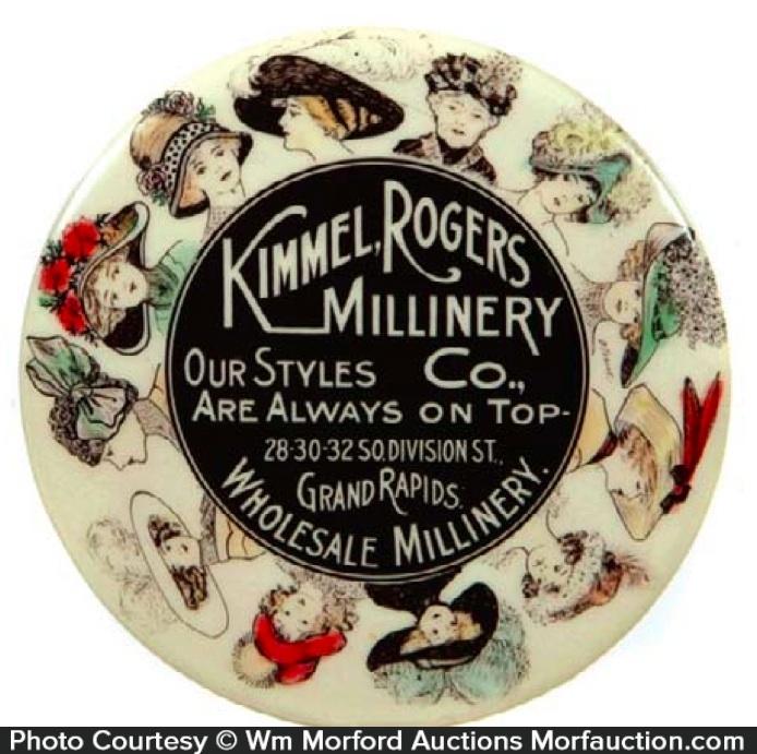 Kimmel Rogers Millinery Mirror