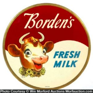 Borden's Fresh Milk Sign