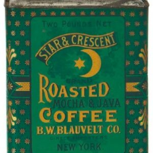 Star & Crescent Coffee Tin