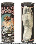 Alco Foot Powder Tin