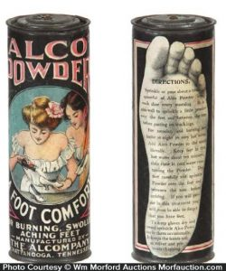 Alco Foot Powder Tin