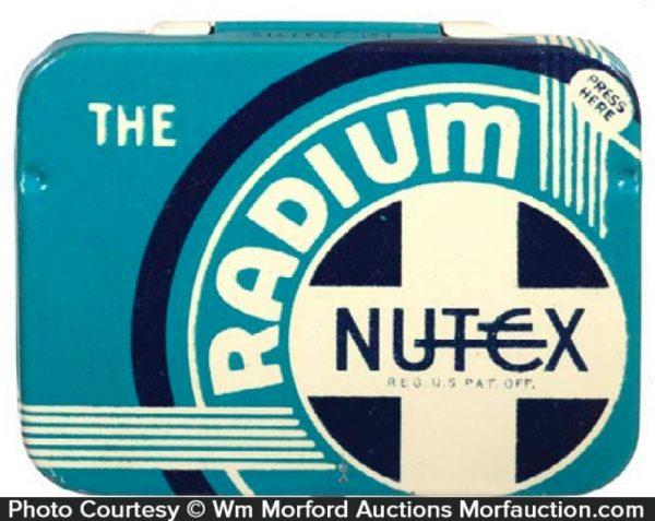 Radium Nutex Condom Tin