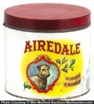 Airedale Cigar Can