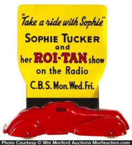 Roi-Tan Cigars Advertising Car