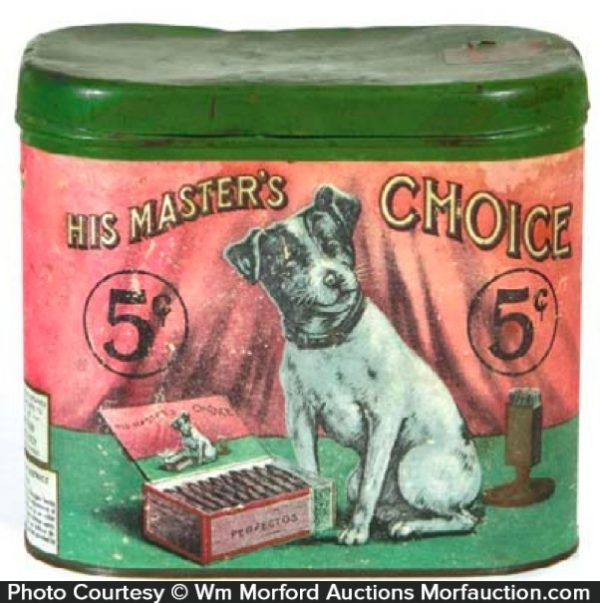 His Master's Choice Cigar Can