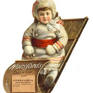 Horsford's Baking Powder Calendar