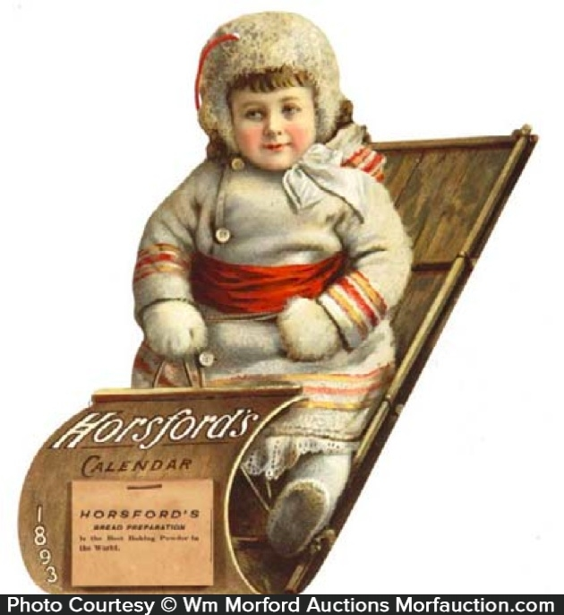 Horsford's Baking Powder Calendar