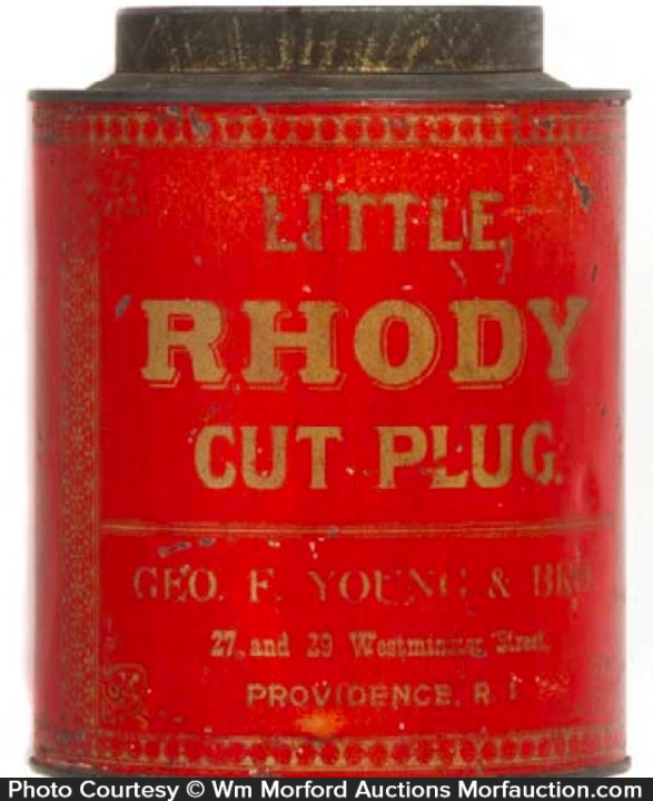 Little Rhody Tobacco Tin