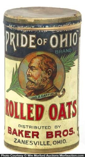 Pride Of Ohio Oats Box