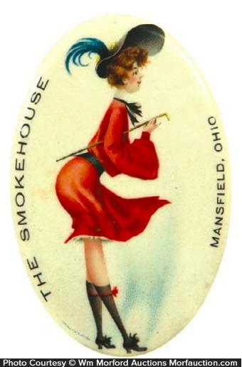 Smokehouse Pocket Mirror