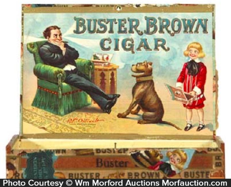 Buster Brown Cigar Box