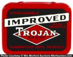 Improved Trojan Condom Tin